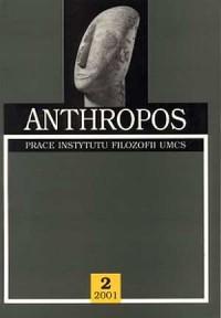 Anthropos. Prace Instytutu Filozofii UMCS nr 2 (2001) - okładka książki