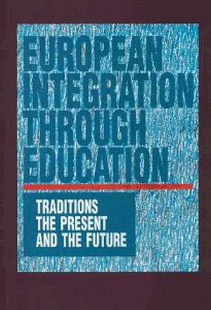 European Integration Through Education. - okładka książki