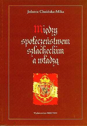 Między społeczeństwem szlacheckim - okładka książki