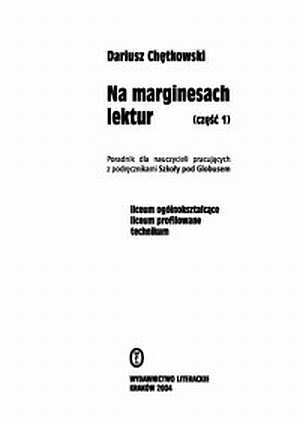 Na marginesach lektur - okładka książki