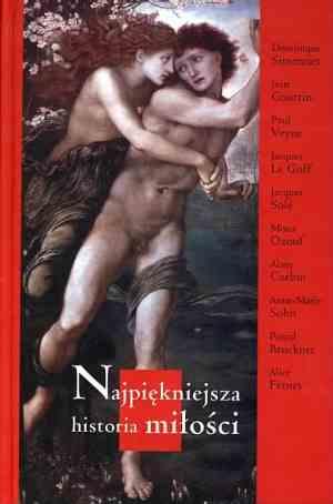Najpiękniejsza historia miłości - okładka książki