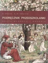 Podręcznik przedszkolanki. Grupa młodsza i średnia - okładka książki