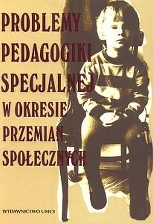 Problemy pedagogiki specjalnej - okładka książki