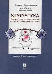 Statystyka. Wprowadzenie do analizy danych sondażowych i eksperymentalnych - okładka książki