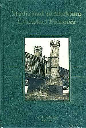 Studia nad architekturą Gdańska - okładka książki