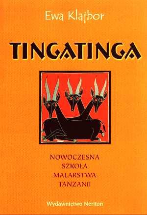 Tingatinga. Nowoczesna szkoła malarstwa - okładka książki