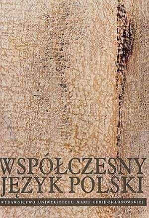 Współczesny język polski - okładka książki