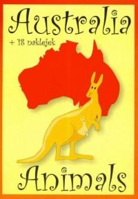 Animals. Australia (+ 18 naklejek) - okładka książki
