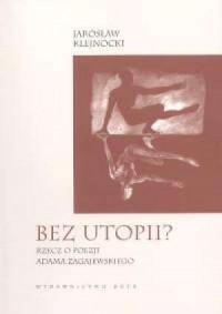 Bez utopii - okładka książki