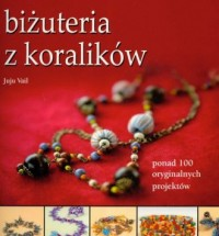 Biżuteria z koralików - okładka książki