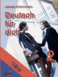 Deutsch fur dich neu 2 - okładka podręcznika