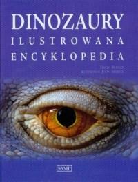 Dinozaury. Ilustrowana encyklopedia - okładka książki