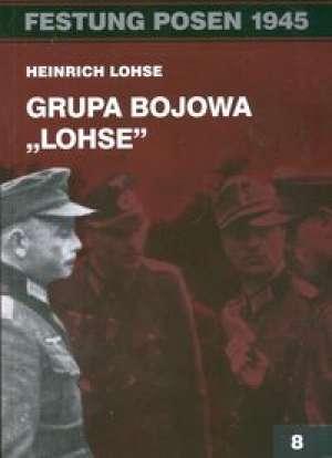 Festung Posen 1945. Grupa bojowa - okładka książki