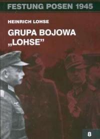 Festung Posen 1945. Grupa bojowa Lohse - okładka książki