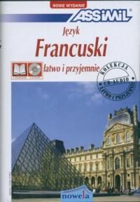 Język francuski. Łatwo i przyjemnie (+ 4 CD) - okładka podręcznika