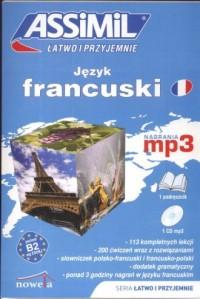 Język francuski łatwo i przyjemnie (+ CD) - okładka podręcznika