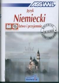 Język niemiecki. Łatwo i przyjemnie (+ 4 CD) - okładka podręcznika