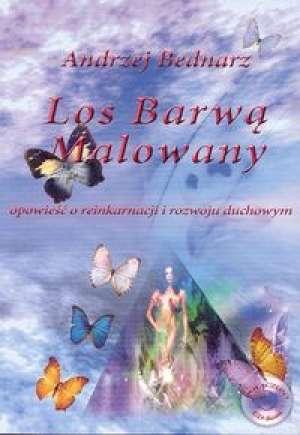 Los barwą malowany - okładka książki