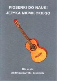 Piosenki do nauki języka niemieckiego - okładka podręcznika