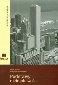 Podstawy rachunkowości. Kompendium wiedzy - okładka książki