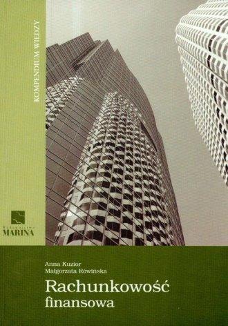 Rachunkowość finansowa. Kompendium - okładka książki