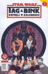 Star Wars. Tag & Bink cz. 1 - okładka książki