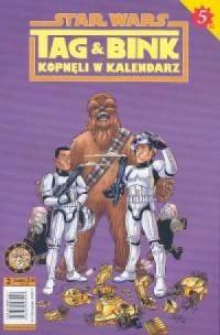 Star Wars. Tag & Bink kopnęli w kalendarz - okładka książki