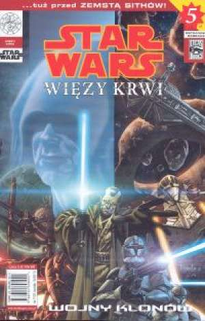 Star Wars. Wojny Klonów. Więzy - okładka książki