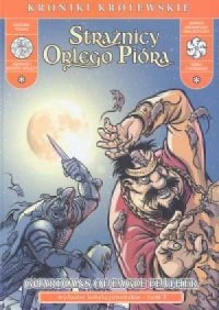 Strażnicy Orlego Pióra. Tom 1 (wersja ang./pol.) - okładka książki