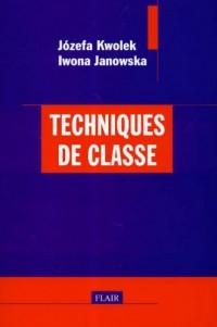 Techniques de classe - okładka książki