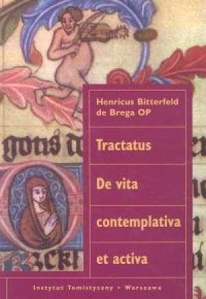 Tractatus De vita contemplativa - okładka książki