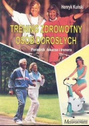 Trenning zdrowotny osób dorosłych - okładka książki