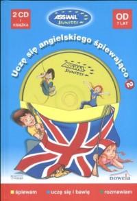 Uczę się angielskiego śpiewająco - okładka książki