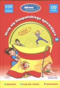 Uczę się hiszpańskiego śpiewająco - okładka książki