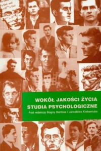 Wokół jakości życia. Studia psychologiczne - okładka książki