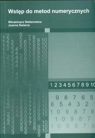 Wstęp do metod numerycznych - okładka książki