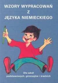 Wzory wypracowań z języka niemieckiego - okładka książki