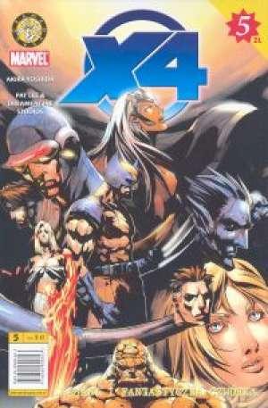 X4 cz. 5 - okładka książki