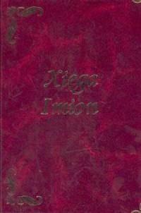 Xięga imion - okładka książki