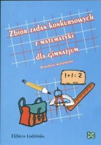 Zbiór zadań konkursowych z matematyki dla gimnazjum - okładka podręcznika