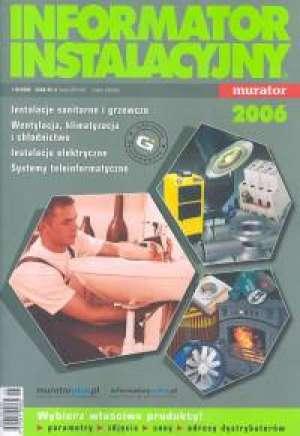 Informator instalacyjny 2006 - okładka książki