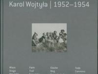 Karol Wojtyła 1952-1954 - okładka książki