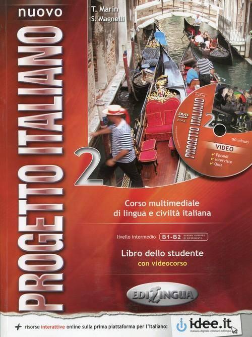 Nouvo Progetto 2. Libro dello studente - okładka podręcznika