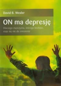 On ma depresję - okładka książki