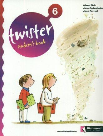 Twister 6. Student s Book - okładka książki