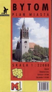 Bytom (plan miasta) - zdjęcie reprintu, mapy