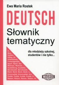 Deutsch. Słownik tematyczny - Ewa - okładka książki