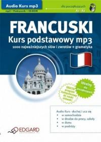 Francuski. Kurs podstawowy. Audio Kurs (CD mp3) - okładka podręcznika