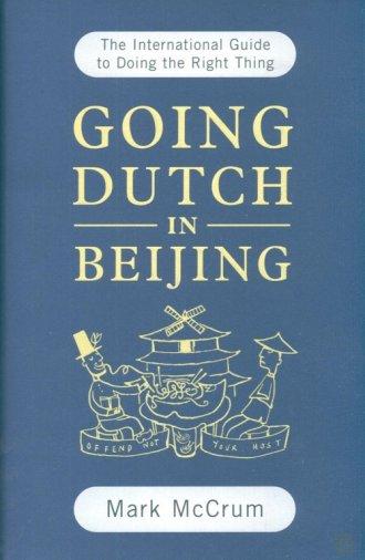 Going Dutch in Beijing - okładka książki