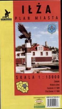 Iłża (mapa) - zdjęcie reprintu, mapy